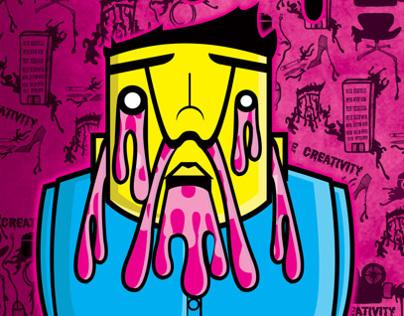 Ooze Creativity FADA Poster