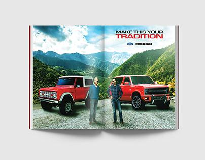 Ford Bronco Ad Campaign