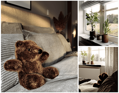 Bedroom - Teddy Bear Edition