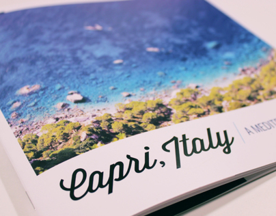Capri Travel Booklet