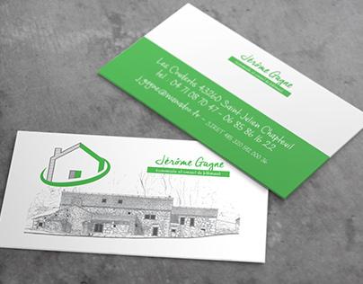 Building advisor business card