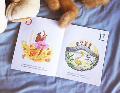 The Woodland Animals Alphabet Book