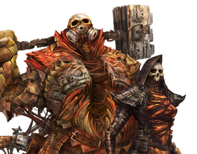 Wretched Mutants - Shattered RPG