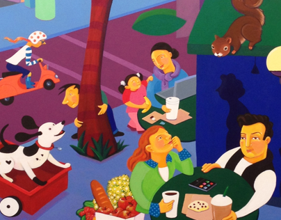 Starbucks Paintings