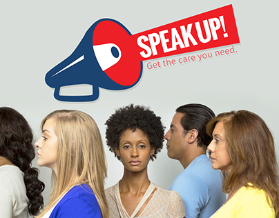 SpeakUP Campaign - Art Direction and UI Design