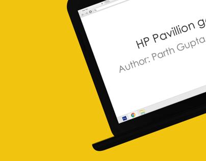 HP Pavillion G6 MockUp
