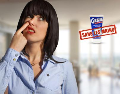 GÉNIE SANS FROTTER - SANS LES MAINS
