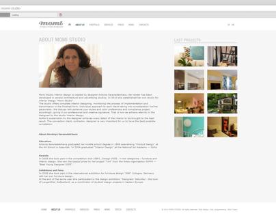 Momi studio web site www.momistudio.com