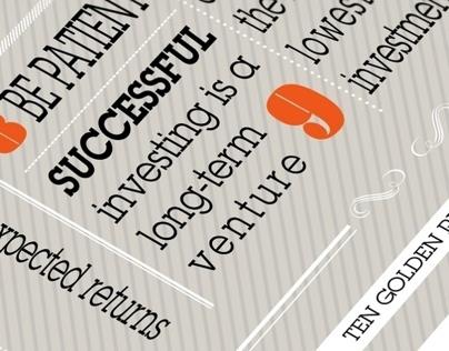 Financial Typographic Prints