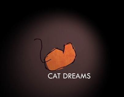 CAT DREAMS Animated logo