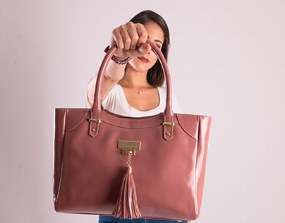 Tasha leather Accessories w/ models