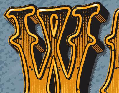 Baron Wolman Type Illustration