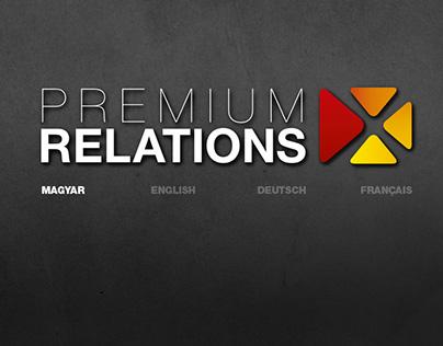 Premium Relations complete brand design (2012–)