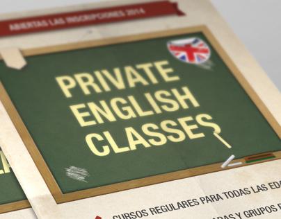 Folletería Instituto de Inglés