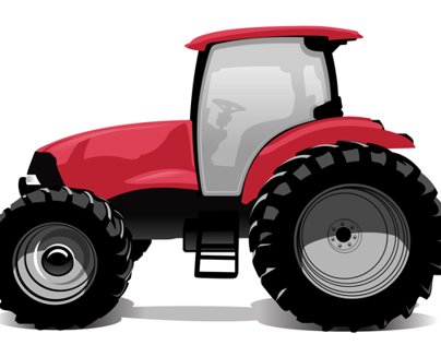 Tractor Logo Concept Illustrations