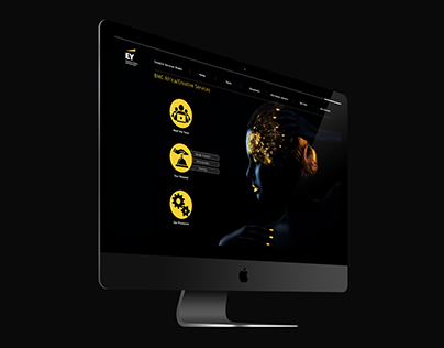 UI Design - EY Creative Services Sharepoint Site