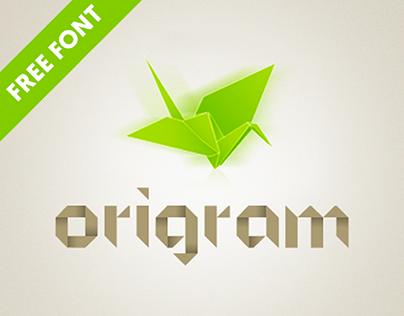 Origram: Free Font