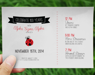 Alpha Sigma Alpha: Alpha Beta, 100-Year Anniversary