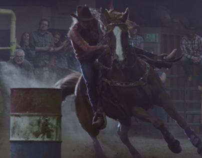 "Chevrolet Silverado ""Her horse"""