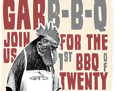 GARB-B-Q | POSTER DESIGN