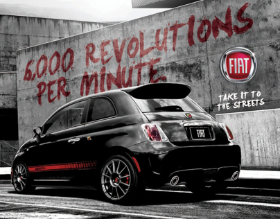 Fiat 500 Abarth - Take it to the Streets
