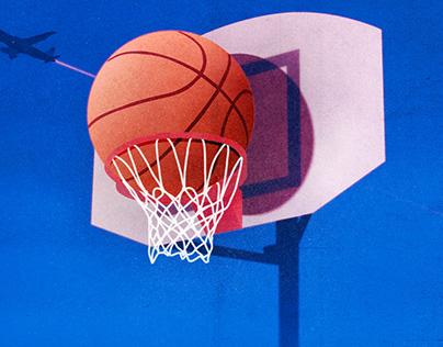 Stucked Basketball