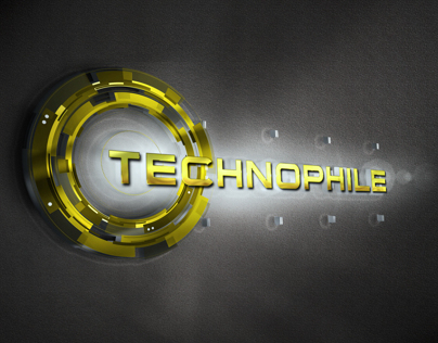 Logo Design Mock-Up : Technophile