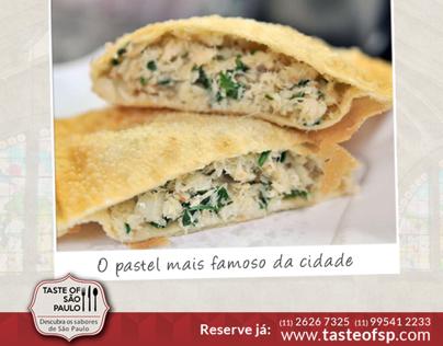 Postagens Facebook - Taste of São Paulo