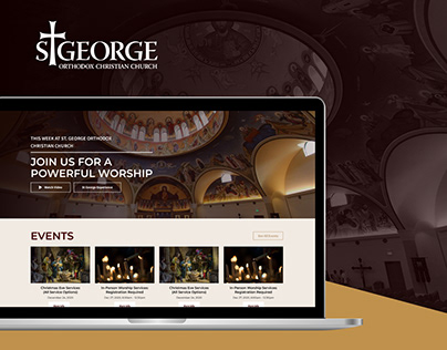 St. George Church - Website Design