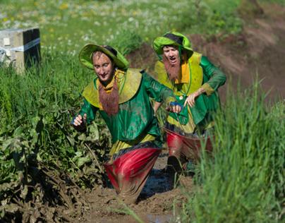 Istery Bask Mud Run
