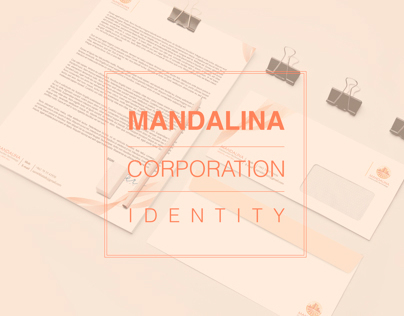 Mandalina Corporation Identity