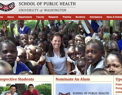 School of Public Health site redesign