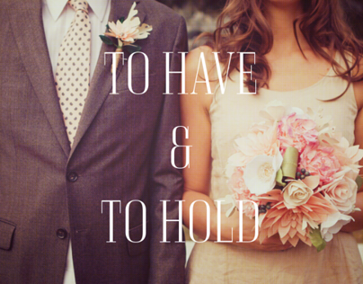 Etsy Weddings: To Have & To Hold