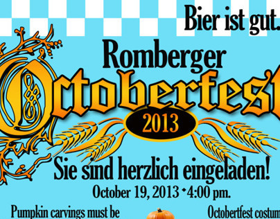 Octoberfest Invitation