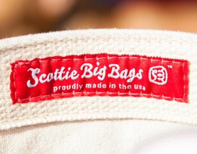 Scottie Big Bags - Bag and T-shirt Design