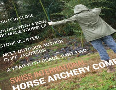 Primitive Archer Magazine Redesign