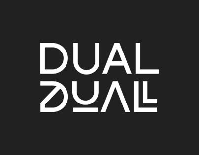 DUAL typeface