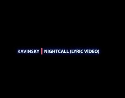 Kavinsky- Nightcall (Lyric Vídeo)