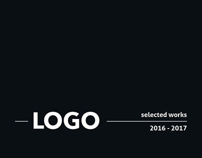 LOGO selected works / 2016 -2017
