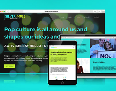 Silver Muse Productions | Website Design