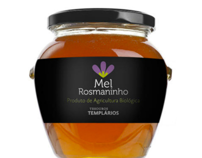 Mel Rosmaninho - Rosemary Biological Portuguese Honey