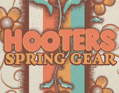 Hooters Spring Catalog