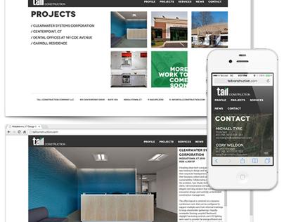 Tall Construction Web Design & Branding