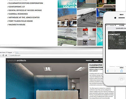 Branding and Web Design for Tyre Studio Architects