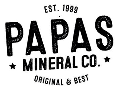 Papa's Mineral Company Rebrand