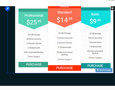 Pricing Table By Wordpress