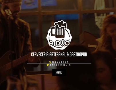 WEB: A DÚO CERVECERÍA