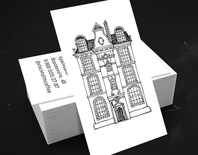 «Stockholm coffee house»: Logo & Identity