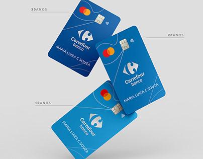 Cartão Carrefour Funcionários - Edição comemorativa