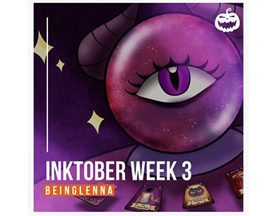 Inktober Week 3 | BeingLenna